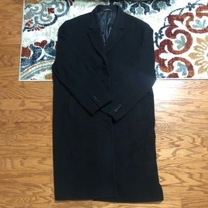 Michael Kors Black Overcoat